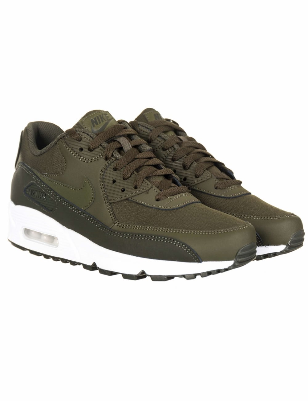 5316bf849914 Nike Air Max 90 Essential Shoes - Sequoia Cargo Khaki - Trainers ...