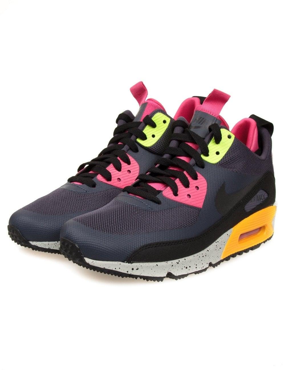 Nike Air Max 90 Sneakerboot - Gridiron - Footwear from Fat Buddha ... 9def3c475
