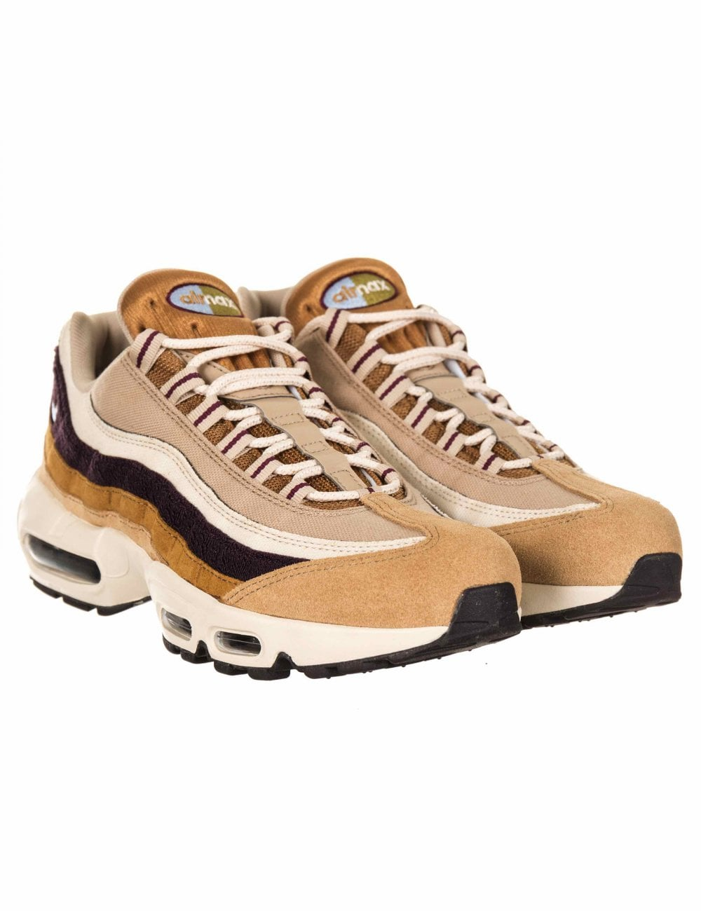 timeless design 17f85 90ef1 Air Max 95 Premium Trainers - Desert/Royal Tint