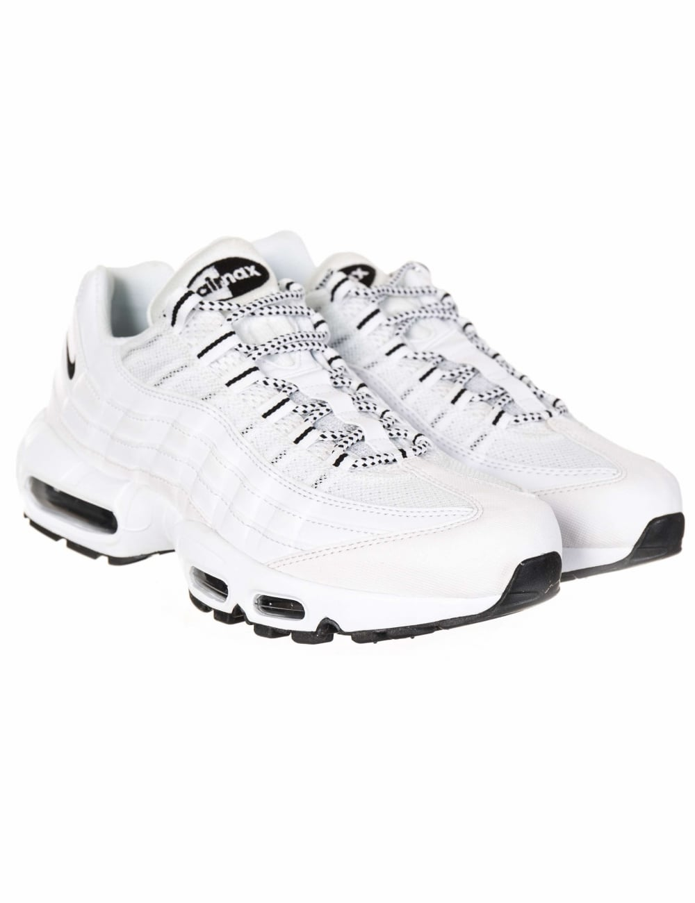 size 40 cf134 acb9f Air Max 95 Trainers - White/Black