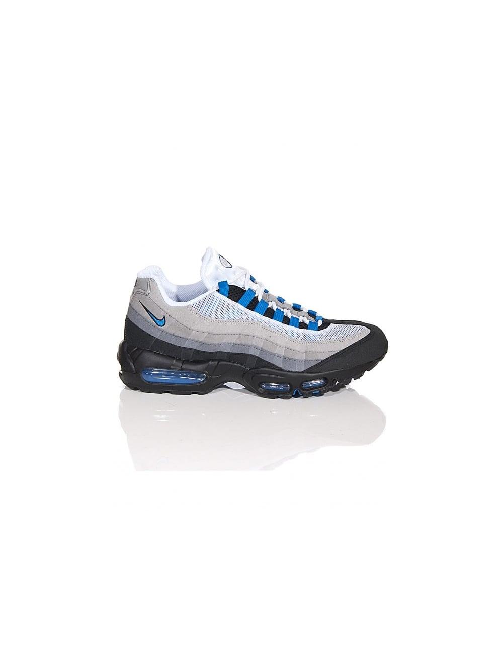 Nike Air Max 95 - White/Blue Spark