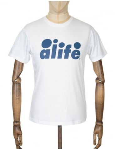 Alife Bubble Logo T-shirt - White