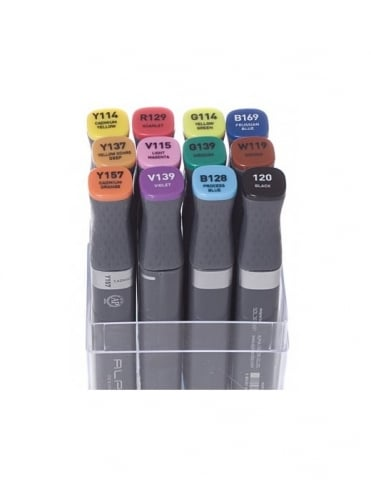Alpha Marker 12 set - Assorted