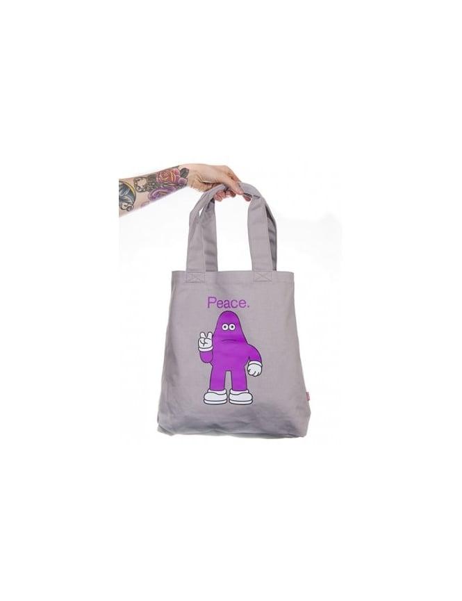Amos Yod Peace Tote Bag
