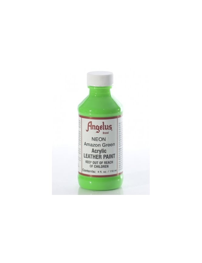 Angelus Dyes & Paint Amazon Green 4oz - Leather Paint