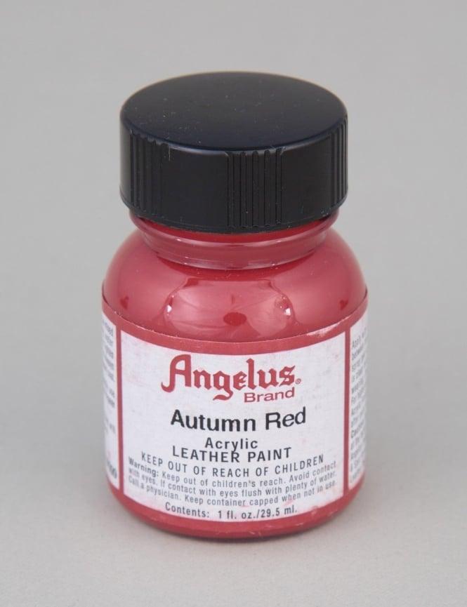 Angelus Dyes & Paint Autumn Red 1oz - Leather Paint