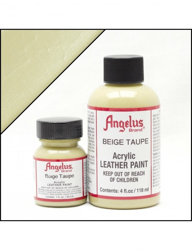 Angelus Dyes & Paint Biege Taupe 1oz - Leather Paint