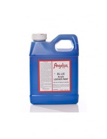 Angelus Dyes & Paint Blue 1Pt - Leather Paint