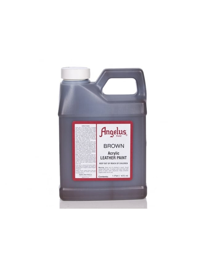 Angelus Dyes & Paint Brown 1Pt - Leather Paint