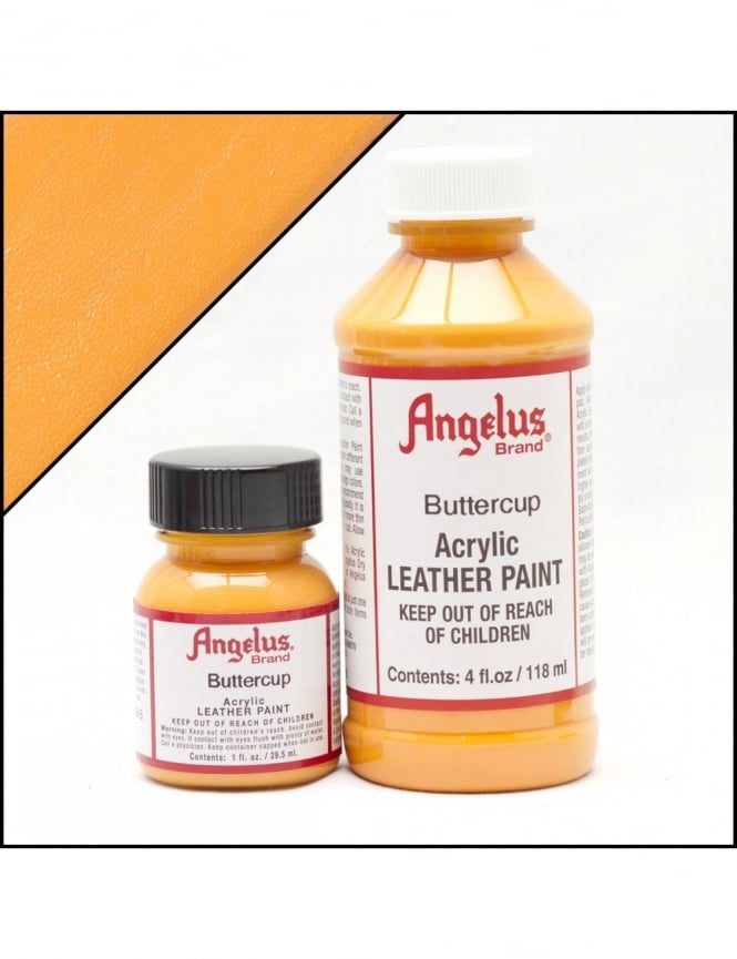 Angelus Dyes & Paint Buttercup 4oz - Leather Paint