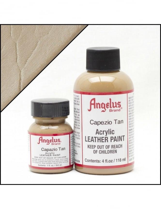 Angelus Dyes & Paint Capazio Tan 1oz - Leather Paint