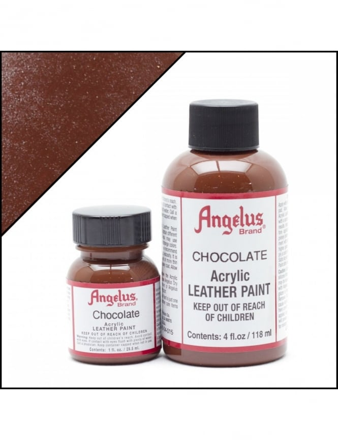 Angelus Dyes & Paint Chocolate 1oz - Leather Paint