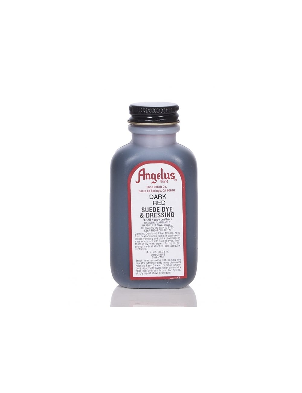 Angelus Dyes Paint Dark Red 3oz Suede Dye Spray Paint Supplies From Fat Buddha Store Uk