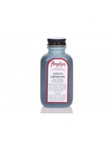 Angelus Dyes & Paint Green 3oz - Leather Dye