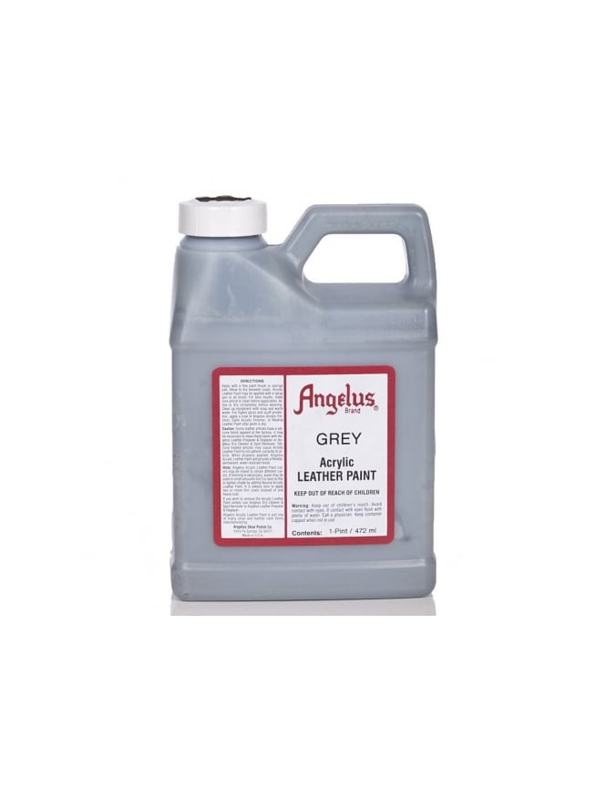 Angelus Dyes & Paint Grey 1Pt - Leather Paint
