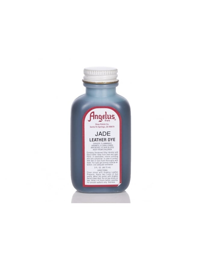 Angelus Dyes & Paint Jade 3oz - Leather Dye