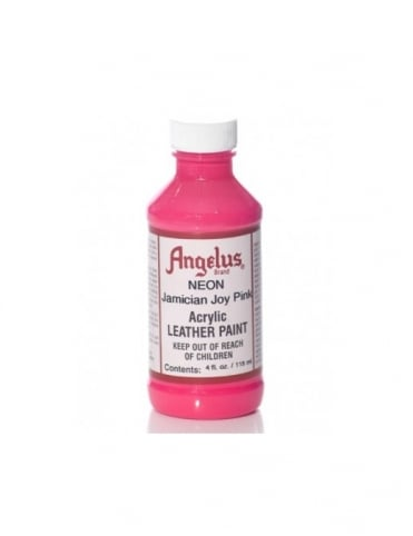 Jamaican Joy Pink 4oz - Leather Paint