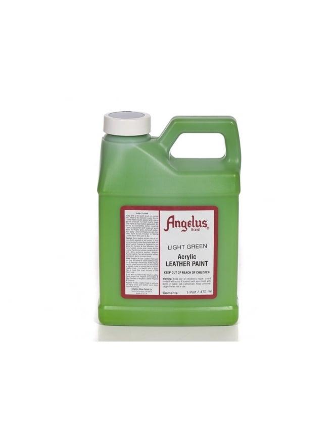 Angelus Dyes & Paint Light Green 1Pt - Leather Paint