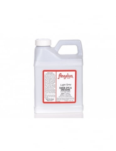 Angelus Dyes & Paint Light Grey 1Pt - Suede Dye