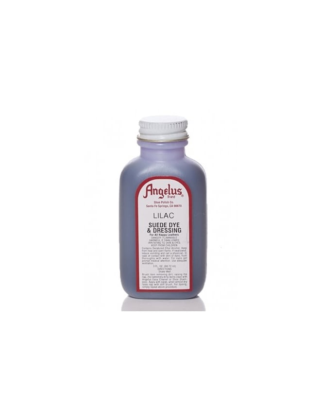 Angelus Dyes & Paint Lilac 3oz - Suede Dye