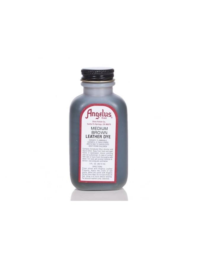 Angelus Dyes & Paint Medium Brown 3oz - Leather Dye