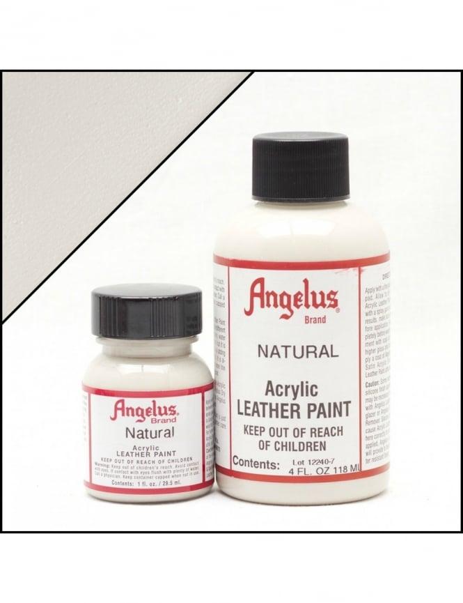 Angelus Dyes & Paint Natural 1oz - Leather Paint