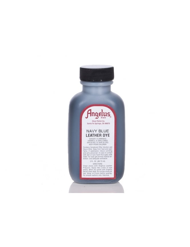 Angelus Dyes & Paint Navy Blue 3oz - Leather Dye