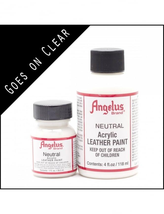 Angelus Dyes & Paint Neutral 1oz - Leather Paint
