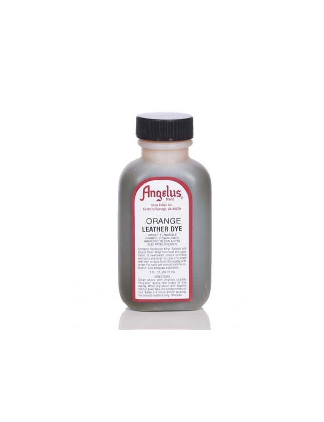 Angelus Dyes & Paint Orange 3oz - Leather Dye