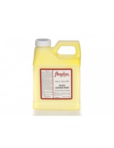 Angelus Dyes & Paint Pale Yellow 1Pt- Leather Paint