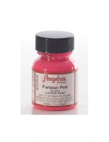Angelus Dyes & Paint Parisian Pink 1oz - Leather Paint