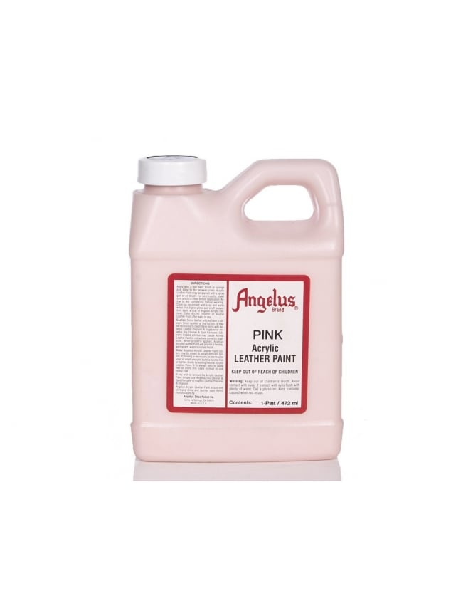 Angelus Dyes & Paint Pink 1Pt - Leather Paint
