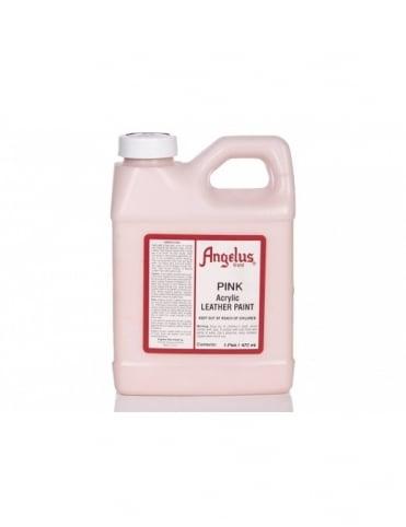 Angelus Dyes & Paint Pink 1Pt - Leather Paint