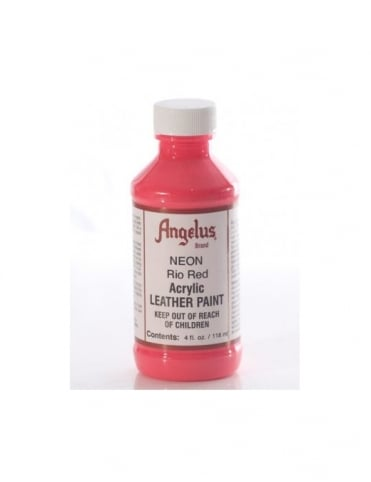 Angelus Dyes & Paint Rio Red 4oz - Leather Paint