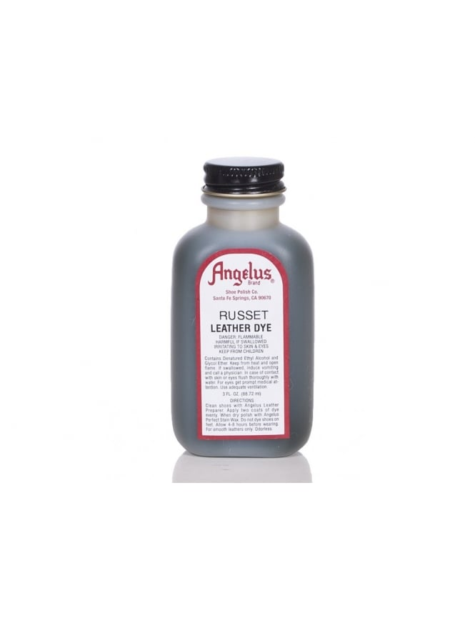 Angelus Dyes & Paint Russet 3oz - Leather Dye