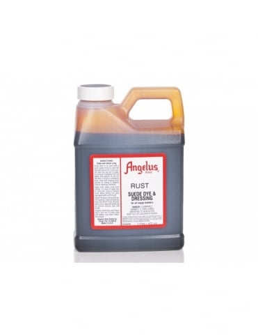 Angelus Dyes & Paint Rust 1Pt - Suede Dye