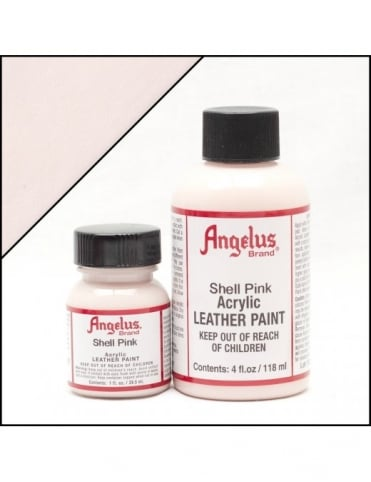 Angelus Dyes & Paint Shell Pink 1oz - Leather Paint