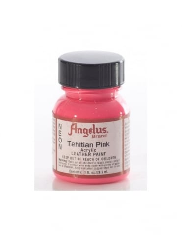 Tahitian Pink 1oz - Leather Paint