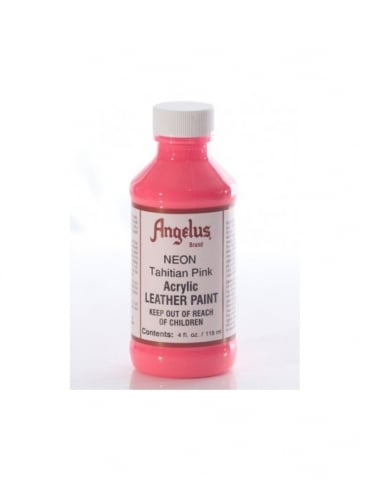 Angelus Dyes & Paint Tahitian Pink 4oz - Leather Paint