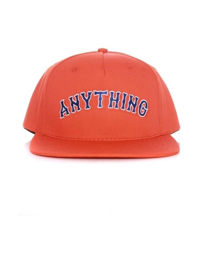AnyTHING Mets Snapback Hat - Orange