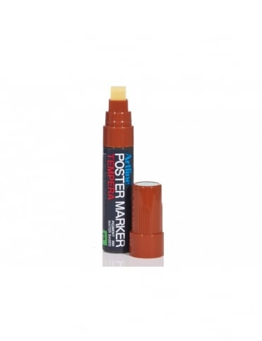 Artline 12mm Poster Marker - Brown