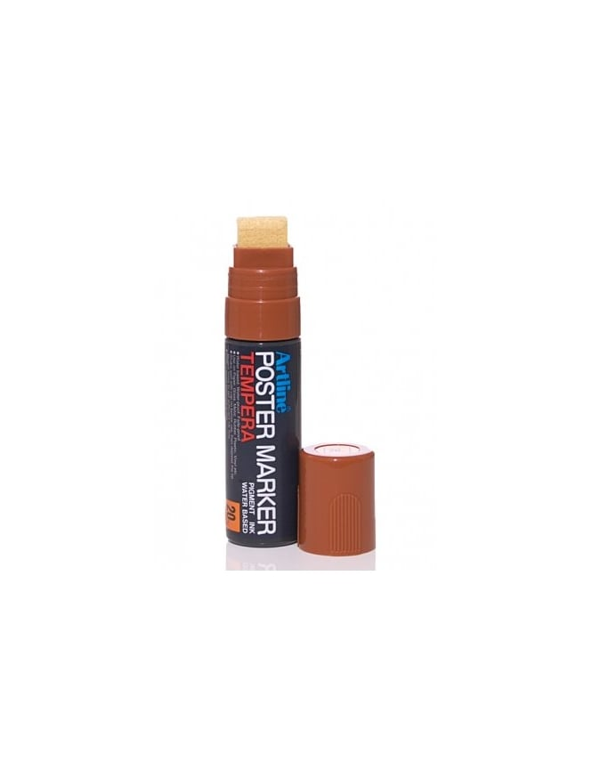 Artline 20mm Poster Marker - Brown