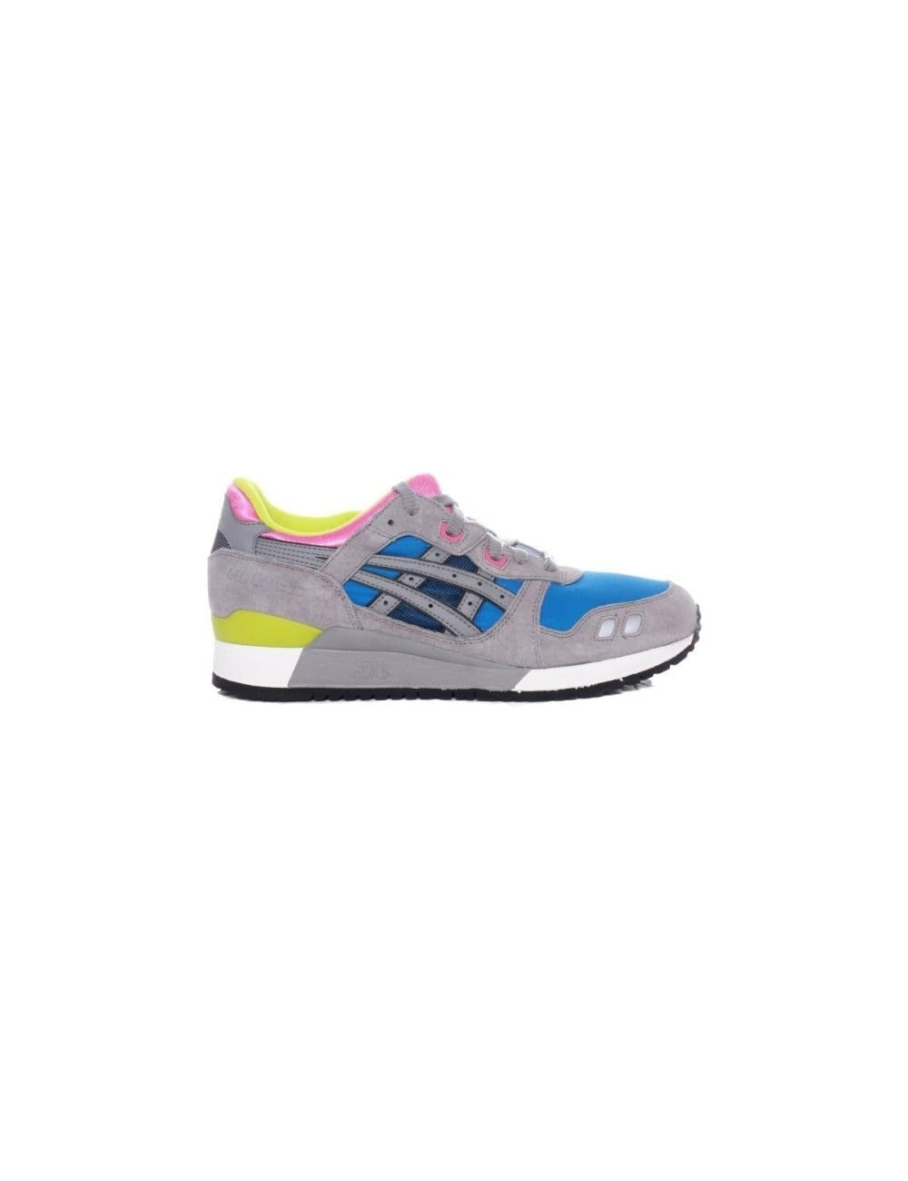 classic lace up in buy Gel-Lyte III - Royal Blue/Grey