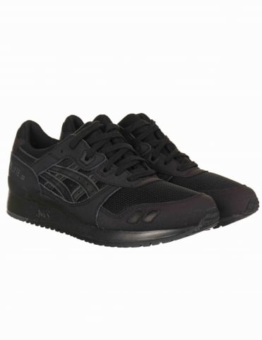 Gel Lyte III Shoes - Black/Black