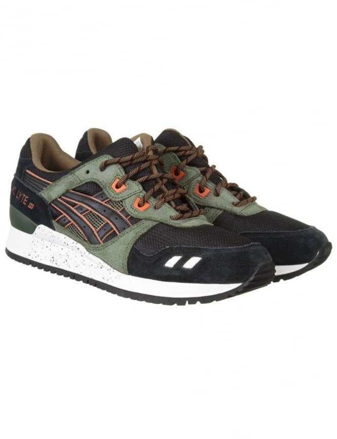 Asics Gel Lyte III Shoes - Black/Black (Winter Trail Pack)