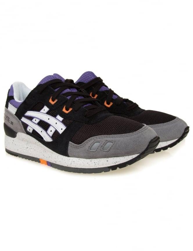 Asics Gel Lyte III Shoes - Black/White