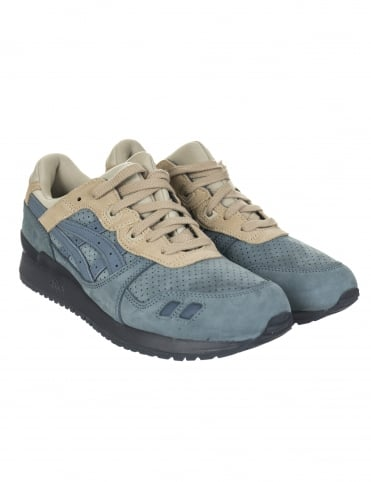 Asics Gel Lyte III Shoes - Blue Mirage/Blue Mirage (Moonwalker Pack)