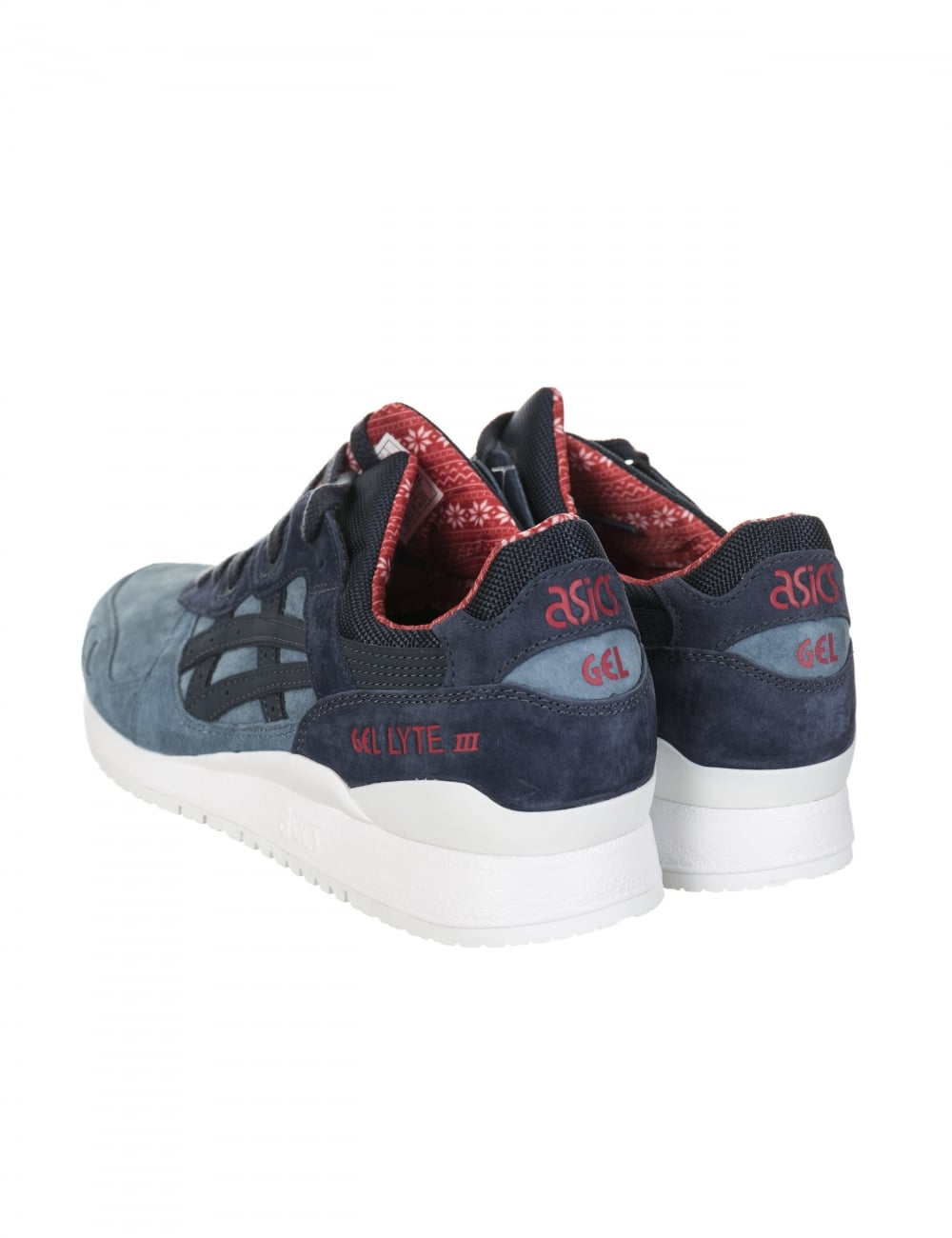 Gel Lyte III Shoes Blue Mirage/India Christmas Pack
