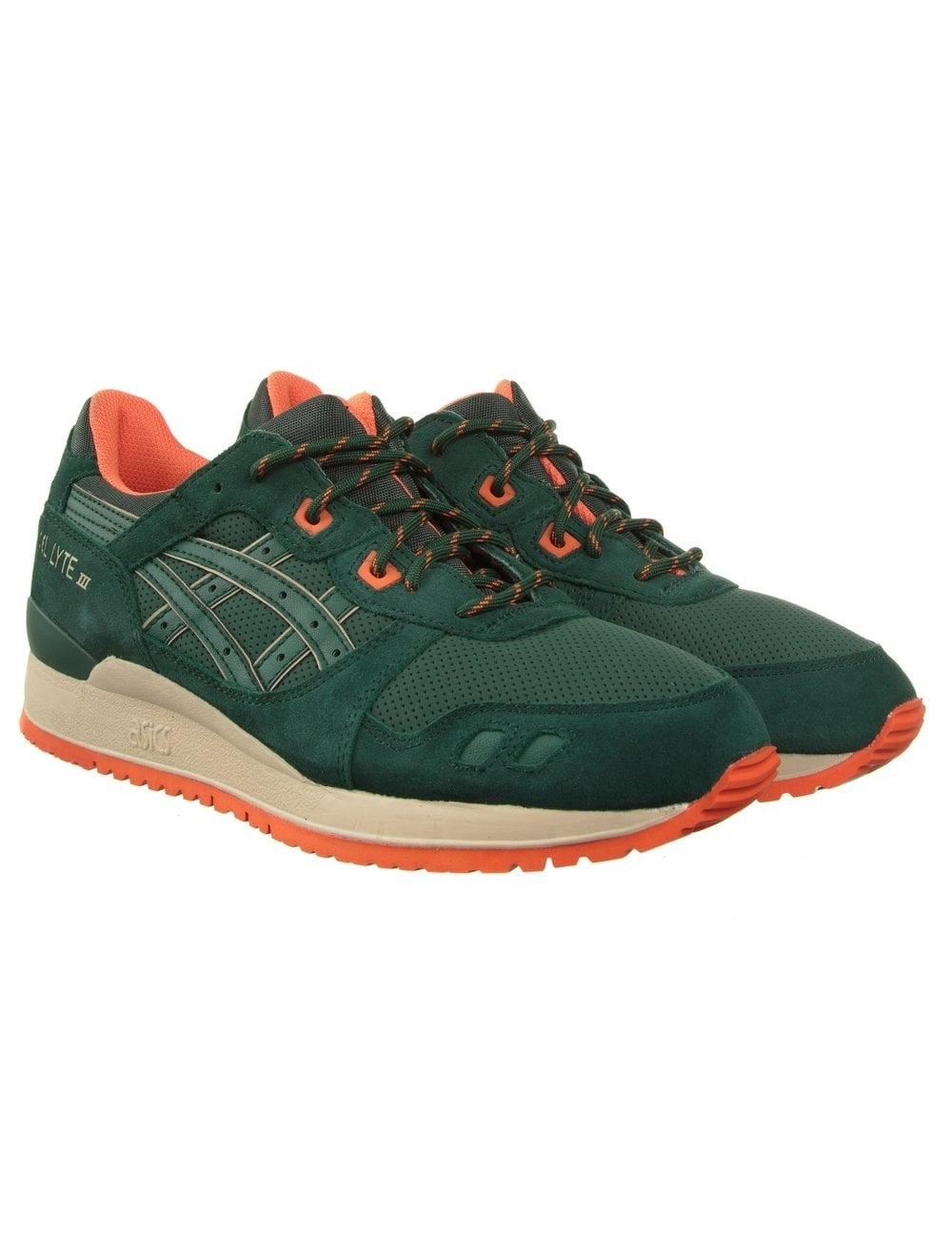 the latest e7a70 a28f3 Gel Lyte III Shoes - Dark Green