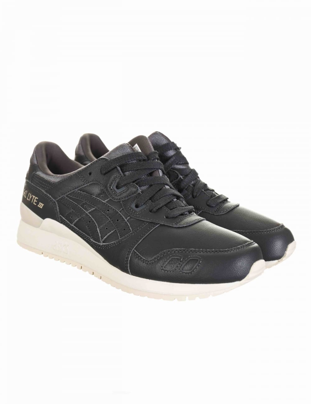 reputable site 10052 054a2 Gel Lyte III Trainers - Dark Grey/Dark Grey